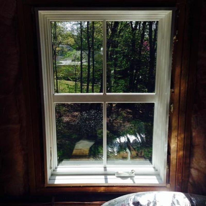 ultra security window film on window