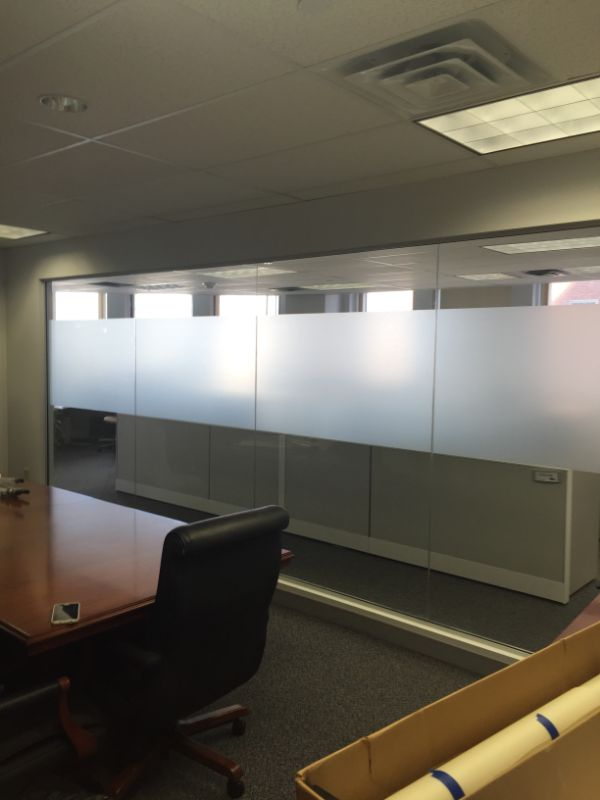 frosted glass decorative window film