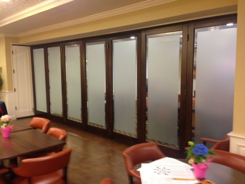frosted glass privacy window film