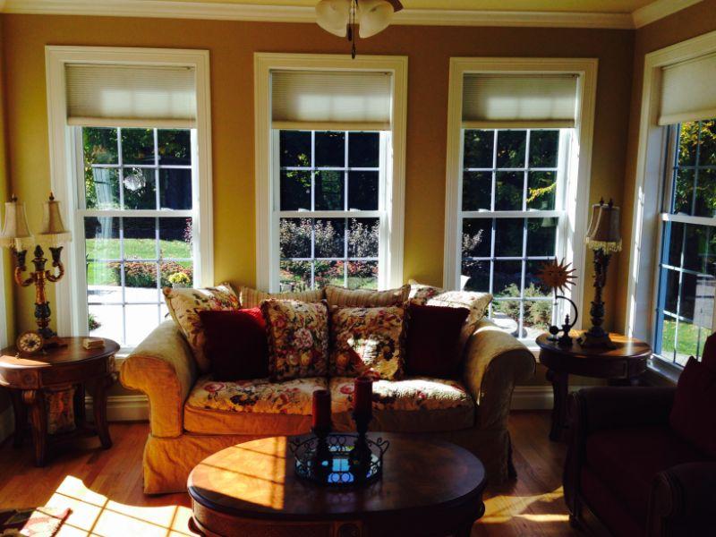 prestige window film on living room windows