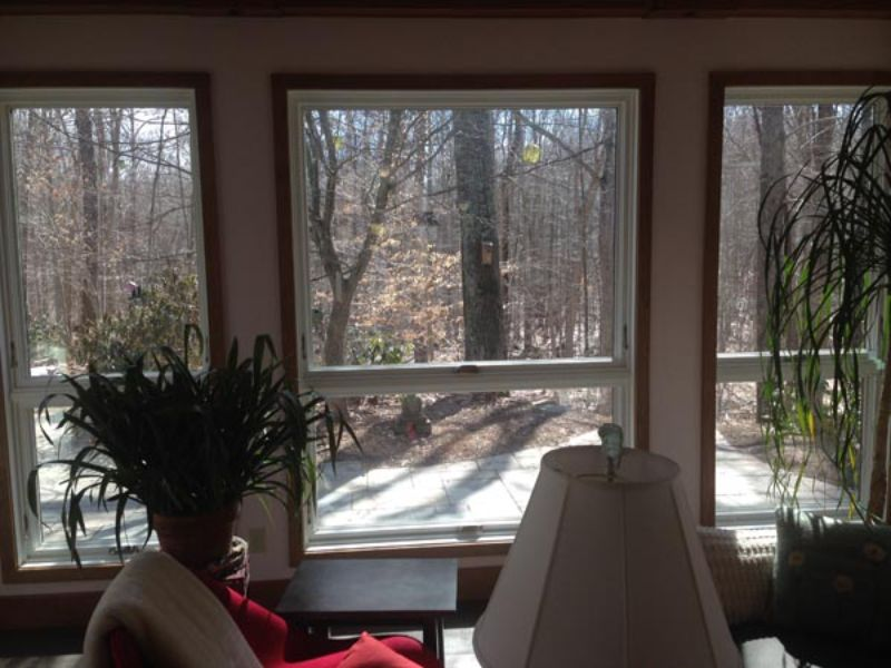 window film installed at home