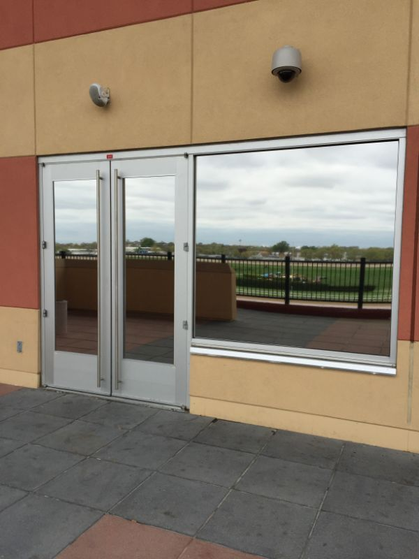exterior window film commercial application