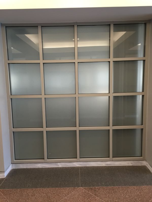 frosted crystal privacy window film
