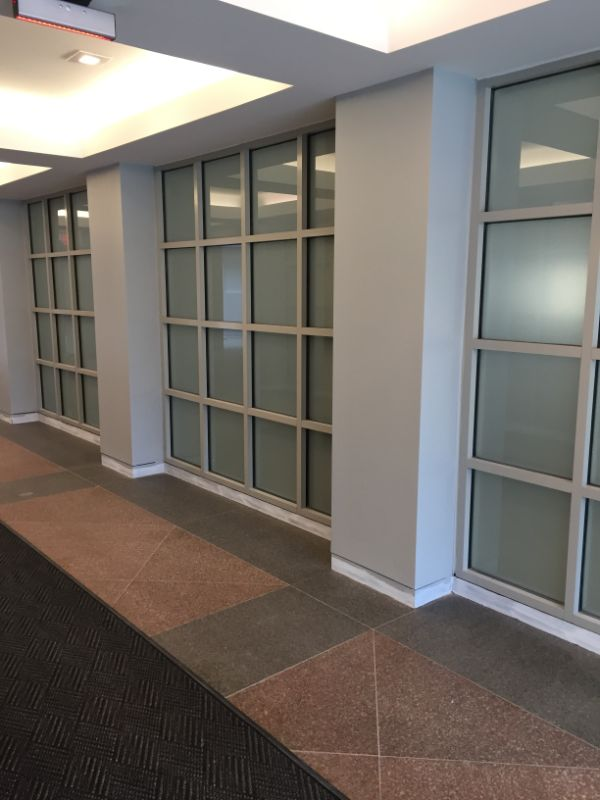 frosted decorative window film
