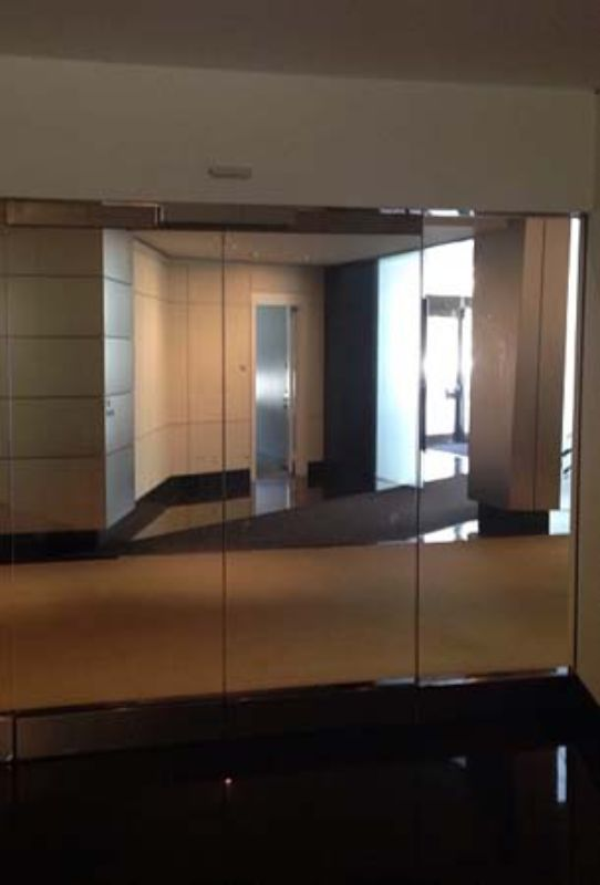 safety and security window film commercial application