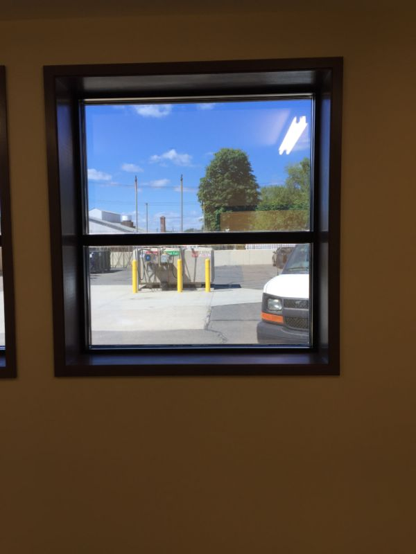 commercial safety and security window film