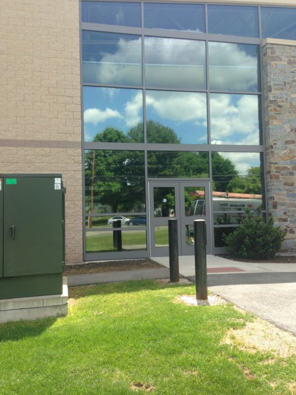 night vision window film commercial application